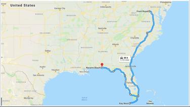 front-royal--va-to-navarre-beach--pensacola-beach--fl---google-maps